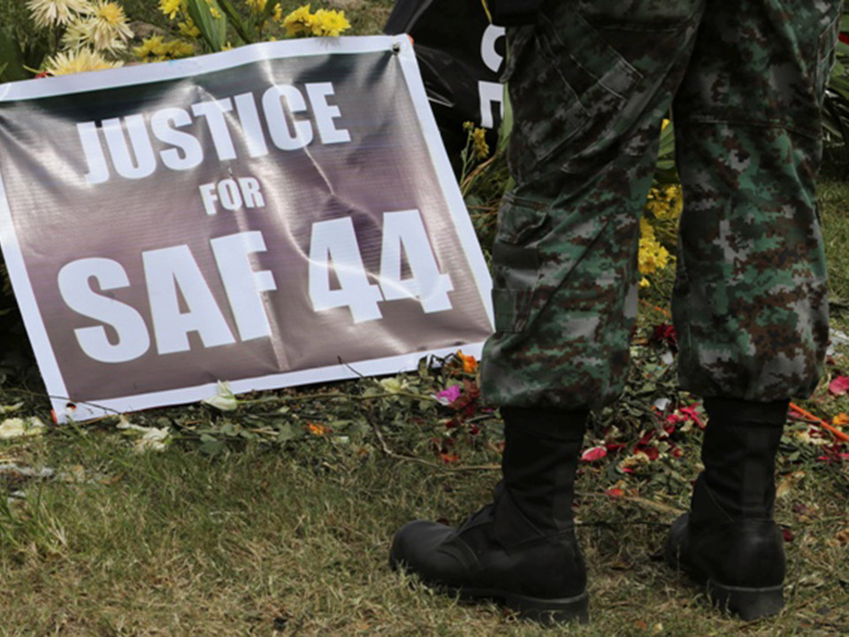 On The Mamasapano Tragedy