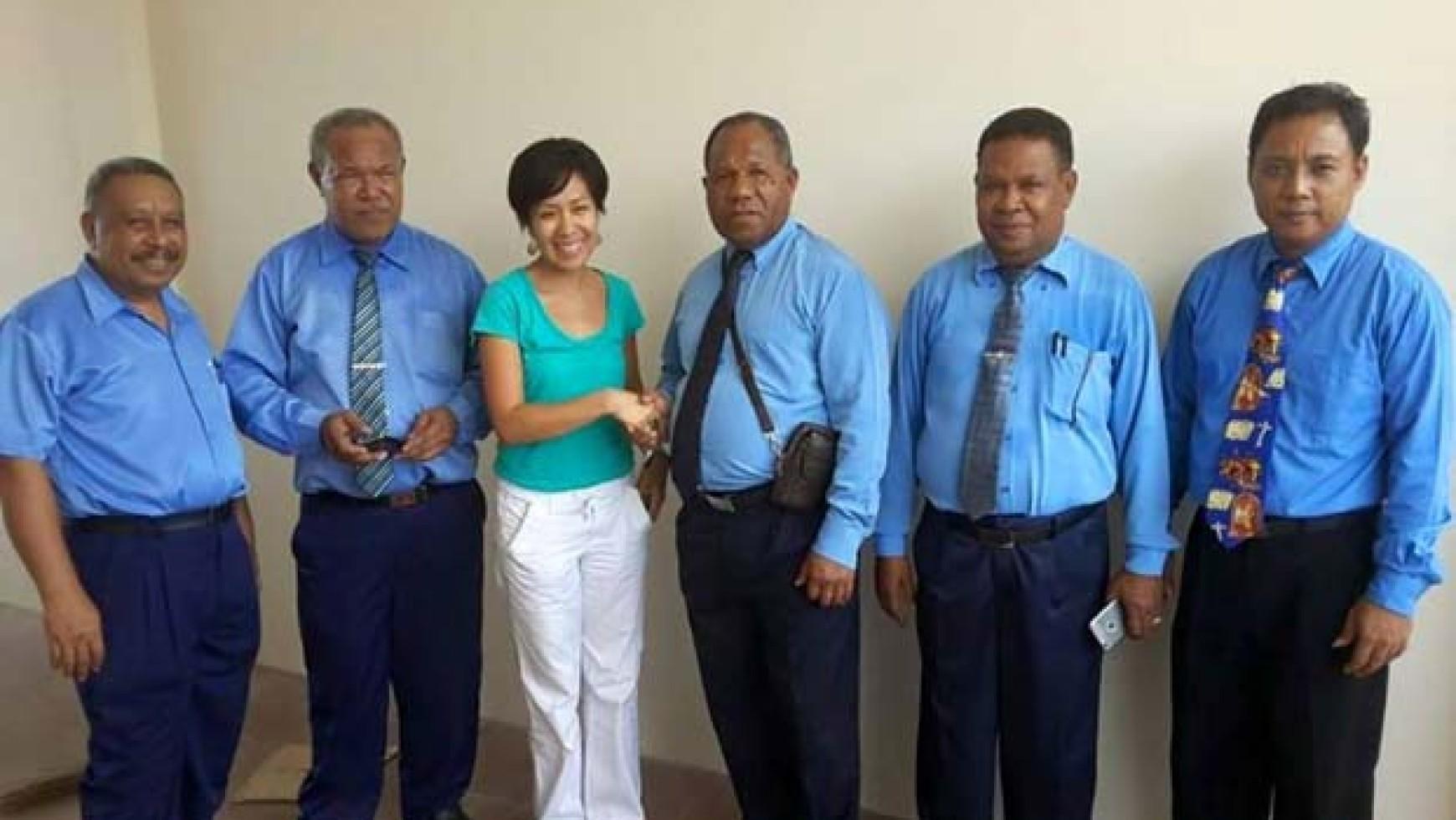 UEM WORKERS AND VOLUNTEERS STRENGTHENING PARTNERSHIP THROUGH EMPLOYMENT AND VOLUNTEER PROGRAMS