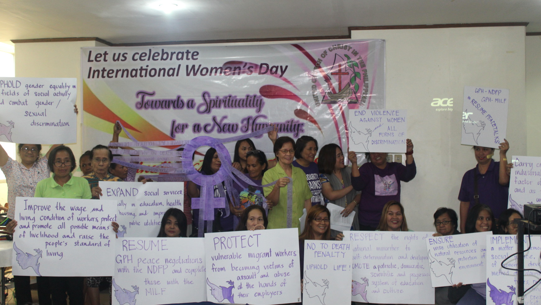 CALL TO ACTION ON INTERNATIONAL WOMEN'S DAY CELEBRATION 2017