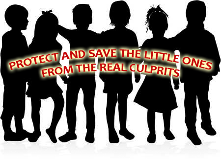 PROTECT AND SAVE THE LITTLE ONES FROM THE REAL CULPRITS; REJECT HB 8858 LOWERING THE MINIMUM AGE OF CRIMINAL RESPONSIBILITY
