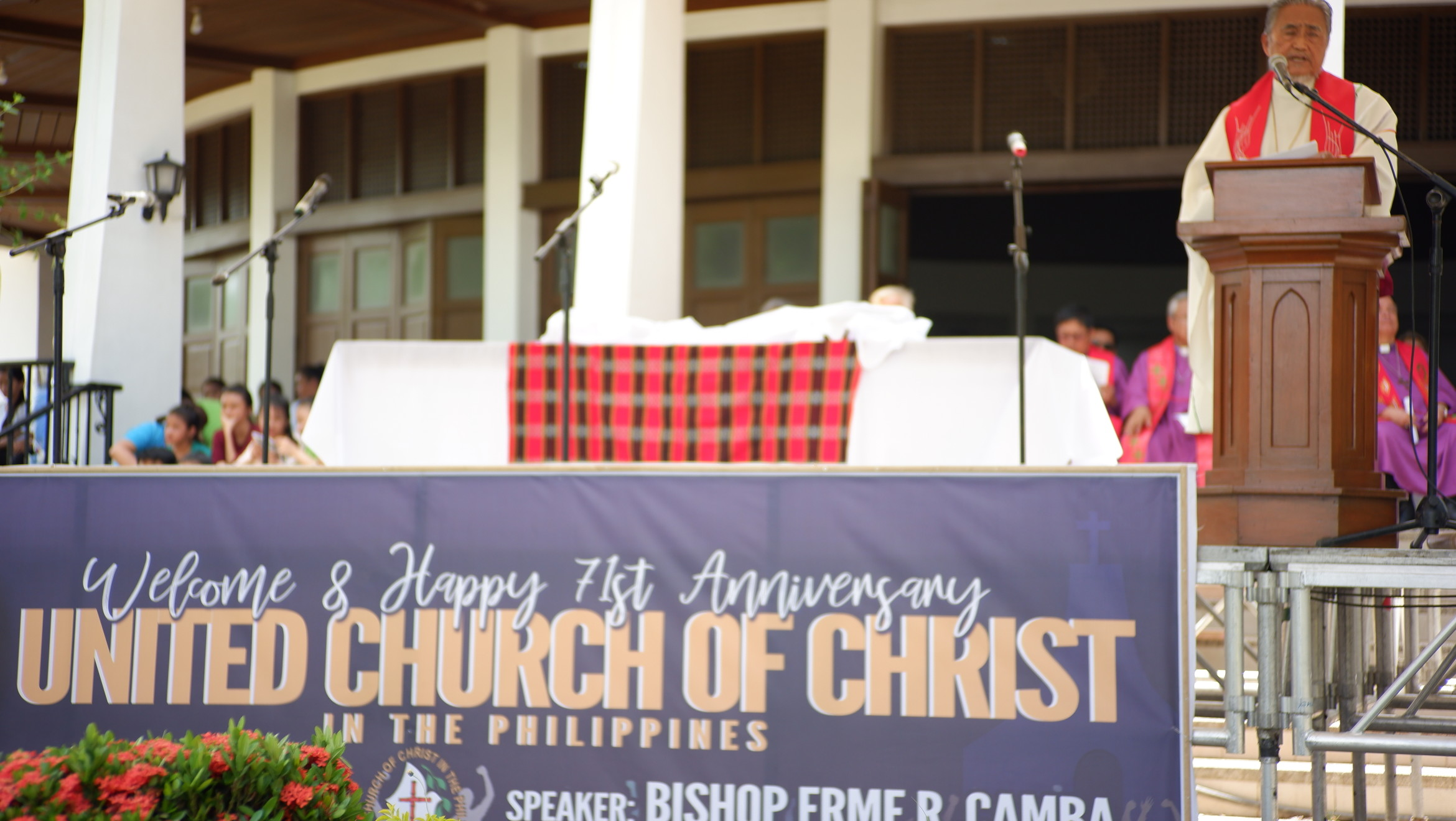 ONWARD UCCP: FORTIFY THE FOUNDATION OF UNITY, PERSEVERE IN DOING CHRIST'S MISSION IN THESE CHANGING TIMES!